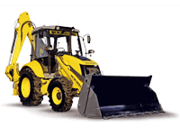 Арендуемый экскаватор-погрузчик New Holland NH85